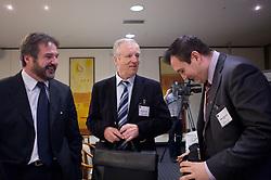 Stane Orazem, Branko Florjanic and Dejan Stefanovic at Management conference of Slovenian Football Federation, on March 10, 2009, in Hotel Kokra, Brdo pri Kranju, Slovenia. (Photo by Vid Ponikvar / Sportida)