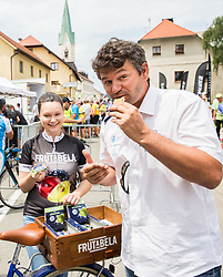 Urban Simcic and Frutabela during 5th Time Trial Stage of 25th Tour de Slovenie 2018 cycling race between Trebnje and Novo mesto (25,5 km), on June 17, 2018 in  Slovenia. Photo by Vid Ponikvar / Sportida