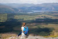 FORT WILLIAM - Ben Nevis, hoogste berg van Groot-Brittannië ... Hier ligt ook het enige 'lake' van Schotland, het Lake of Menteith . COPYRIGHT KOEN SUYK