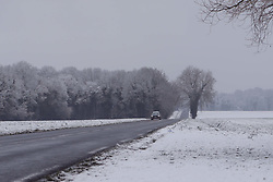 February 6, 2018 - Paris, France - Vague de froid dans la region Ile de France (Credit Image: © Panoramic via ZUMA Press)