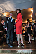 OLIVIA COLE, Spectator Life - 3rd birthday party. Belgraves Hotel, 20 Chesham Place, London, SW1X 8HQ, 31 March 2015