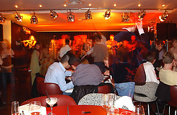 at a night of Cuban Cocktails and Cabaret hosted by Edward Taylor and Charles Beamish at Floridita, 100 Wardour Street, London W1 on 14th April 2005.<br /><br />NON EXCLUSIVE - WORLD RIGHTS