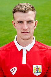Aden Flint poses for a head shot - Photo mandatory by-line: Rogan Thomson/JMP - 07966 386802 - 04/08/2014 - SPORT - FOOTBALL - BCFC Training Ground, Failand - Bristol City, 2014/15 Team Photos.