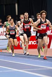 New Balance Indoor Grand Prix track meet: Men's 3000 meters, Andy Baddeley