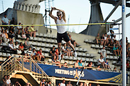 Sam Kendricks (USA) competes and wins in Men's Pole Vault during the Meeting de Paris 2018, Diamond League, at Charlety Stadium, in Paris, France, on June 30, 2018 - Photo Jean-Marie Hervio / KMSP / ProSportsImages / DPPI