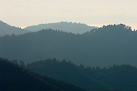 Landscape in Troodos mountains, Cyprus