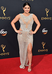 Ariel Winter attends the 68th Annual Primetime Emmy Awards at Microsoft Theater on September 18, 2016 in Los Angeles, California. Photo by Lionel Hahn/ABACAPRESS.COM
