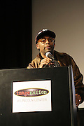 Spike Lee at The ImageNation celebration for the 20th Anniversary of ' Do the Right Thing' held Lincoln Center Walter Reade Theater on February 26, 2009 in New York City. ..Founded in 1997 by Moikgantsi Kgama, who shares executive duties with her husband, Event Producer Gregory Gates, ImageNation distinguishes itself by screening works that highlight and empower people from the African Diaspora.