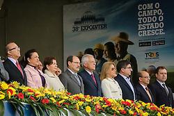 Desfile dos campeões durante a Inauguração oficial 38ª Expointer, que ocorre entre 29 de agosto e 06 de setembro de 2015 no Parque de Exposições Assis Brasil, em Esteio. FOTO: André Feltes/ Agência Preview