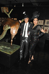 ANDY & PATTI WONG at Andy & Patti Wong's Chinese new Year party held at County Hall and Dali Universe, London on 26th January 2008.<br /><br />NON EXCLUSIVE - WORLD RIGHTS (EMBARGOED FOR PUBLICATION IN UK MAGAZINES UNTIL 1 MONTH AFTER CREATE DATE AND TIME) www.donfeatures.com  +44 (0) 7092 235465
