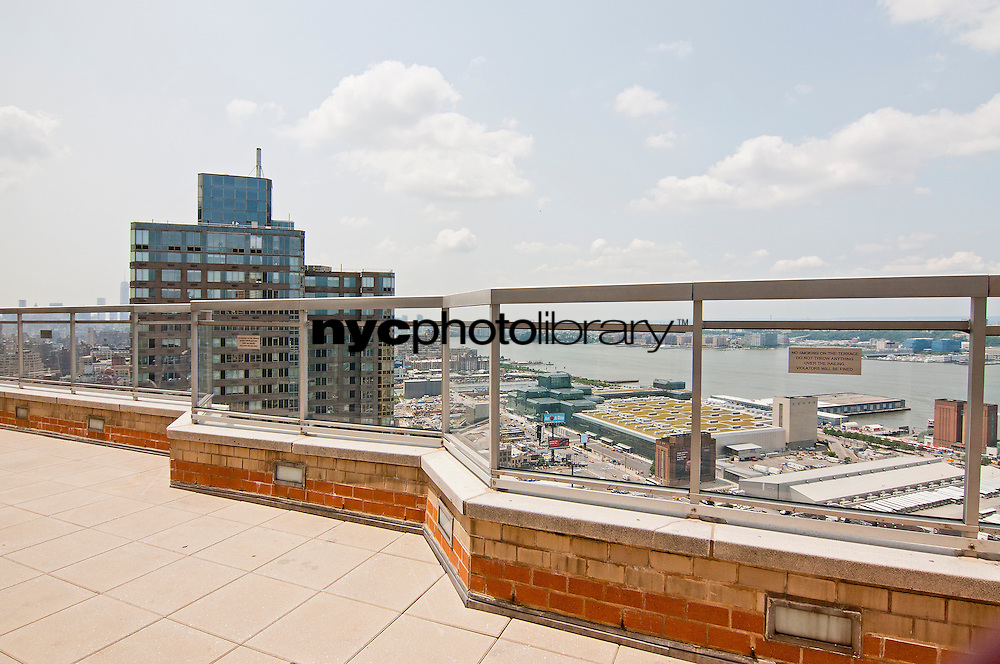 Roof Deck at 500 West 43rd Street