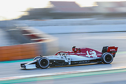 February 19, 2019 - Barcelona, Spain - Giovinazzi during F1 test celebrated at Circuit of Barcelona 19th February 2019 in Barcelona, Spain. (Credit Image: © Urbanandsport/NurPhoto via ZUMA Press)