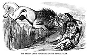 The British Lion's Vengeance on the Bengal Tiger.