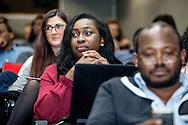 How to Fix Nigeria: Tackling Corruption. Speakers: Charles Abiodun Alao (Professor of African Studies at King's College London), Kayode Ogundamisi (UK-based Nigerian activist and anti corruption campaigner), Maggie Murphy (Transparency International's Senior Global Advocacy Manager), Ayo Sogunro (Writer, Teacher, Columnist, Lawyer) and Funmi Iyanda. London, Dec. 09, 2016 (Photos/Ivan Gonzalez)