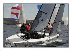 The Brewin Dolphin Scottish Series, Tarbert Loch Fyne.. E'Tu Royal Lymington YC RS Elite Steve Powell .