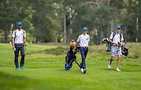 HILVERSUM - team Slovenia   . Quarter finals. ELTK Golf 2020 The Dutch Golf Federation (NGF), The European Golf Federation (EGA) and the Hilversumsche Golf Club will organize Team European Championships for men.  left coach Maarten Lafeber. COPYRIGHT KOEN SUYK