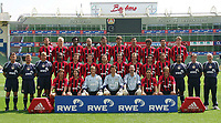 Fotball<br /> Tyskland 2004/05<br /> Bayer Leverkusen<br /> Foto: Digitalsport<br /> NORWAY ONLY<br /> Lagbilde<br /> Bak fra venstre:<br /> Jens NOWOTNY, Carsten RAMELOW, Roque JUNIOR, Teddy LUCIC, Radoslaw KALUZNY, Dimita BERBATOV, Marko BABIC, FRANCA,  Kenan SAHIN, Jan-Ingwer CALLSEN-BACKER<br /> Midten fra venstre:<br /> Trainer Klaus AUGENTHALER , Co-Trainer Peter HERMANN , TW-Trainer Rödiger VOLLBORN, Juan, Paul FREIER, Jacek KRZYNOWEK, Andrej WORONIN, Hanno BALITSCH, Daniel BIEROFKA, Robesn PONTE, Jermaine JONES, Co-Trainer Ulf KIRSTEN , Betreuer Klaus ZÖLLER , Masseur Dieter TRZOLEK<br /> Foran fra venstre:<br />  Bernd SCHNEIDER, Diego PLACENTE, Rene ADLER, Jörg BUTT, Tom STARKE, Sezer …ZT†RK, Clemens FRITZ