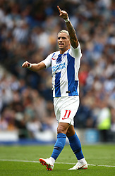 Brighton & Hove Albion's Anthony Knockaert during the game