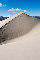 Highest point at Eureka dunes, Death Valley national park, California
