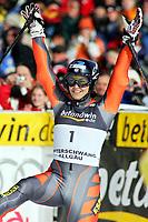 OFTERSCHWANG,DEUTSCHLAND,04.FEB.06 - SKI ALPIN - FIS Weltcup, Riesentorlauf der Damen, RTL. Bild zeigt Maria Jose Rienda (ESP).<br /> Foto:  Thomas Bachun , Digitalsport<br /> Anja Pärson