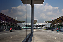 February 7, 2019 - Sepang, SGR, U.S. - SEPANG, SGR - FEBRUARY 07: Franco Morbidelli of Petronas Yamaha SRT in action during the  second day of the MotoGP official testing session held at Sepang International Circuit in Sepang, Malaysia. (Photo by Hazrin Yeob Men Shah/Icon Sportswire) (Credit Image: © Hazrin Yeob Men Shah/Icon SMI via ZUMA Press)