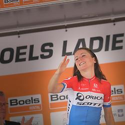 29-08-2017: Wielrennen: Boels Ladies Tour: Wageningen  <br />Annemiek van Vleuten wint de proloog