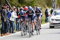 Frank Mathias - Iam - 28.04.2015 - Tour de Romandie - Etape 01 : Vallee de Joux / Juraparc - CLM Par Equipes<br />Photo : Sirotti / Icon Sport  *** Local Caption ***