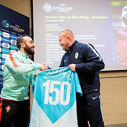 20171204: SLO, Futsal - Press conference of UEFA Futsal EURO 2018 Organising Committee