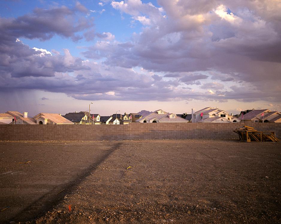 Housing development, Las Vegas, 1990