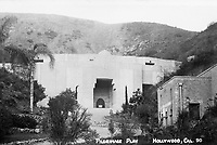 1923 Pilgrimage Play Theater on the east side of the Cahuenga Pass. Now known as the John Anson Ford Theater