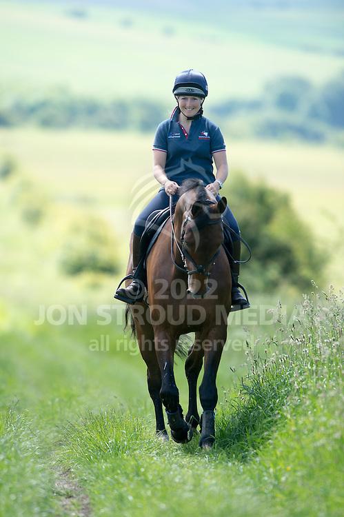 Laura Collett AAA - Windy Hollow Stables, Lambourne, Berkshire, United Kingdom - 10 July 2014