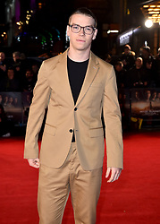 Will Poulter attending the Maze Runner: The Death Cure fan screening held at Vue West End in Leicester Square, London.