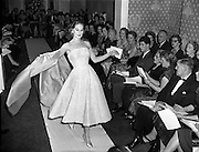 Sybil Connolly Fashion Show at New Premises at Merrion Sq..17/01/1958.