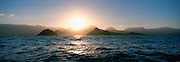 Sunset, Lanikai, Windward Oahu, Oahu, Hawaii, USA<br />