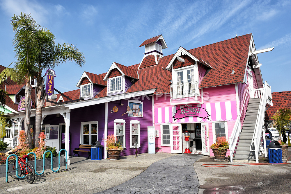 Ice Cream Shop and The Village Hats Shop at Shoreline Village