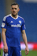Craig Noone of Cardiff city looks on. EFL Skybet championship match, Cardiff city v Fulham at the Cardiff city stadium in Cardiff, South Wales on Saturday 25th February 2017.<br /> pic by Andrew Orchard, Andrew Orchard sports photography.