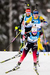 March 10, 2019 - –Stersund, Sweden - 190310 Ingrid Landmark Tandrevold of Norway and Hanna Öberg of Sweden during the Women's 10 km Pursuit during the IBU World Championships Biathlon on March 10, 2019 in Östersund..Photo: Petter Arvidson / BILDBYRÃ…N / kod PA / 92254 (Credit Image: © Petter Arvidson/Bildbyran via ZUMA Press)