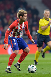November 22, 2017 - Madrid, Spain - Antoine Griezmann of Atletico de Madrid during the UEFA Champions League group C match between Atletico Madrid and AS Roma at Estadio Wanda Metropolitano on November 22, 2017 in Madrid, Spain  (Credit Image: © Mateo Villalba/NurPhoto via ZUMA Press)