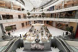 Interior of new  luxury section of Dubai Mall Fashion Avenue , Downtown Dubai, United Arab Emirates