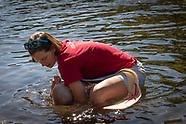 Baptism at Lake Logan