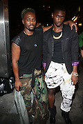 l to r: Malcolm Harris and Guest at Vanessa Simmons' Birthday Celebration held at Su Casa on August 7, 2009 in New York City