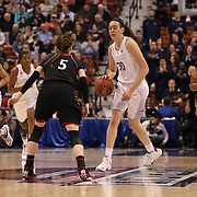 Breanna Stewart, UConn, in action during the UConn Vs Cincinnati Quarterfinal Basketball game at the American Women's College Basketball Championships 2015 at Mohegan Sun Arena, Uncasville, Connecticut, USA. 7th March 2015. Photo Tim Clayton