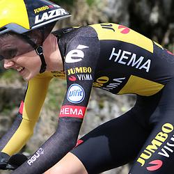 ANDERMATT (SUI) JUNE 13 <br /> Gijs Leemreize (Netherlands / Team Jumbo Visma) at Tour de Suisse 2021  (Photo: Sportfoto/Orange Pictures)