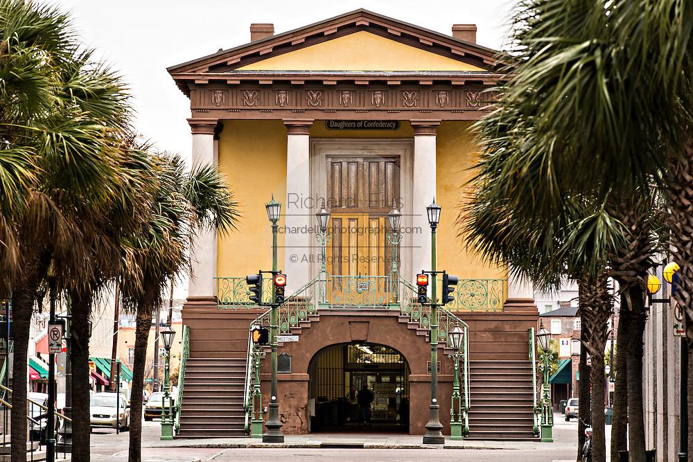Confederate Museum at the Historic Charleston City Market on Market Street in Charleston, SC.