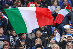 November 24, 2018 - Rome, Rome, Italy - Italian supporters during the Test Match 2018 between Italy and New Zealand at Stadio Olimpico on November 24, 2018 in Rome, Italy. (Credit Image: © Emmanuele Ciancaglini/NurPhoto via ZUMA Press)