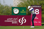 during Round 1 of the Commercial Bank Qatar Masters 2020 at the Education City Golf Club, Doha, Qatar . 05/03/2020<br /> Picture: Golffile   Thos Caffrey<br /> <br /> <br /> All photo usage must carry mandatory copyright credit (© Golffile   Thos Caffrey)