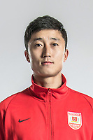 **EXCLUSIVE**Portrait of Chinese soccer player Sun Jie of Changchun Yatai F.C. for the 2018 Chinese Football Association Super League, in Wuhan city, central China's Hubei province, 22 February 2018.