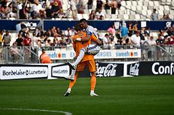 August 12, 2018 - Bordeaux, France - Joie fin de match Stephan Mitrovic  (Credit Image: © Panoramic via ZUMA Press)