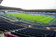 General view inside BT Murrayfield Stadium, Edinburgh, Scotland before the 1872 Cup second leg Guinness Pro14 2019_20 match between Edinburgh Rugby and Glasgow Warriors on 28 December 2019.