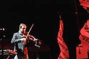Andrew Bird live at Nelsonville Music Festival, Saturday May 19 2012 10pm, photo by Mara Robinson